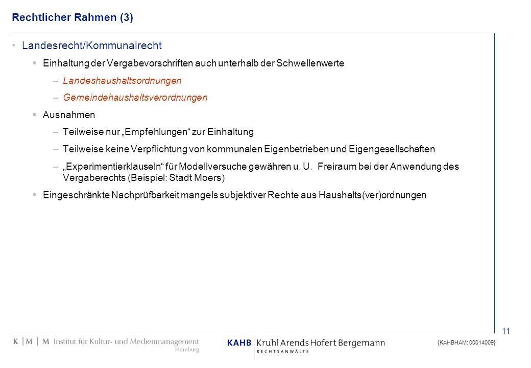 Landesrecht/Kommunalrecht