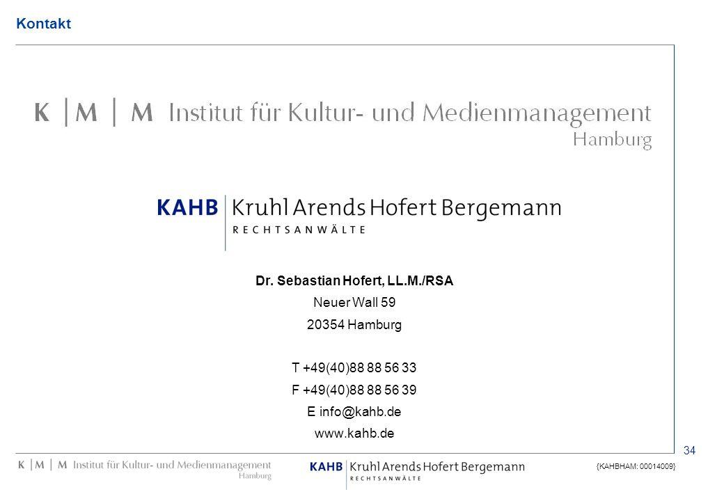 Dr. Sebastian Hofert, LL.M./RSA