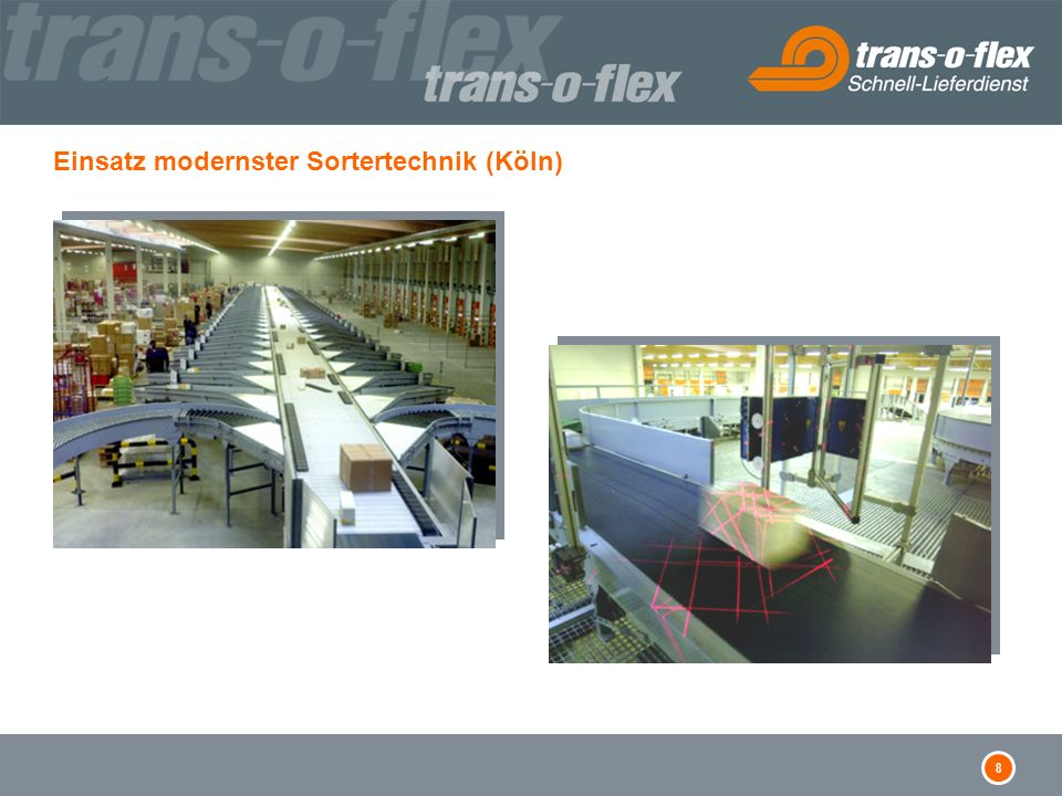 Einsatz modernster Sortertechnik (Köln)