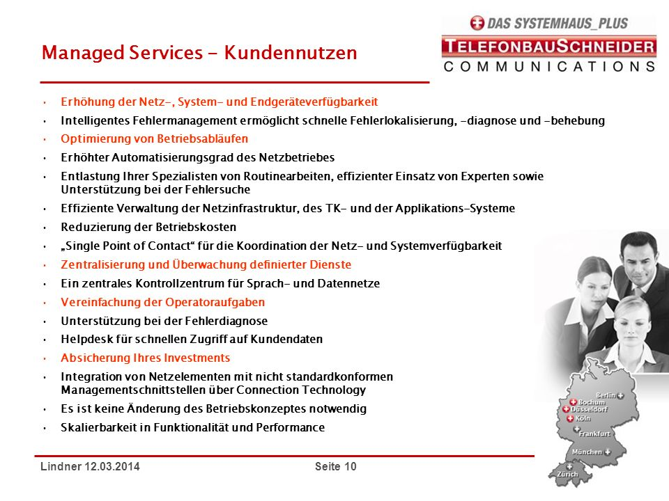 Managed Services - Kundennutzen