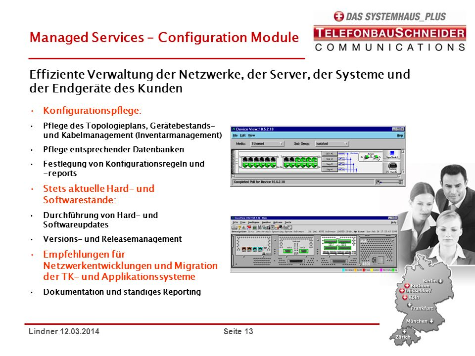 Managed Services – Configuration Module