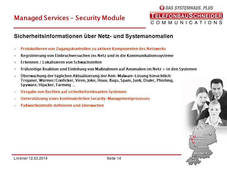 Managed Services – Security Module
