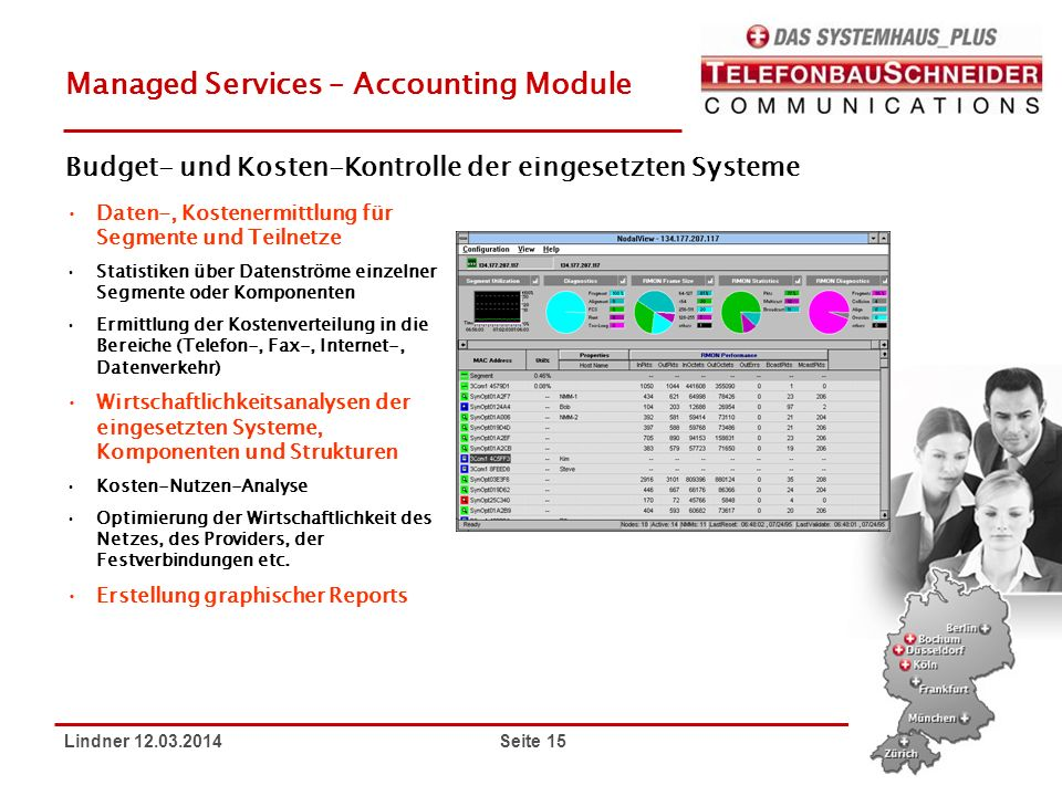 Managed Services – Accounting Module