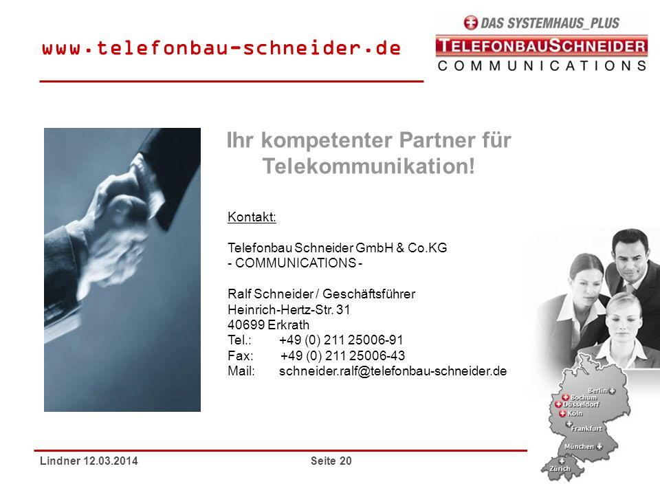 Ihr kompetenter Partner für Telekommunikation!