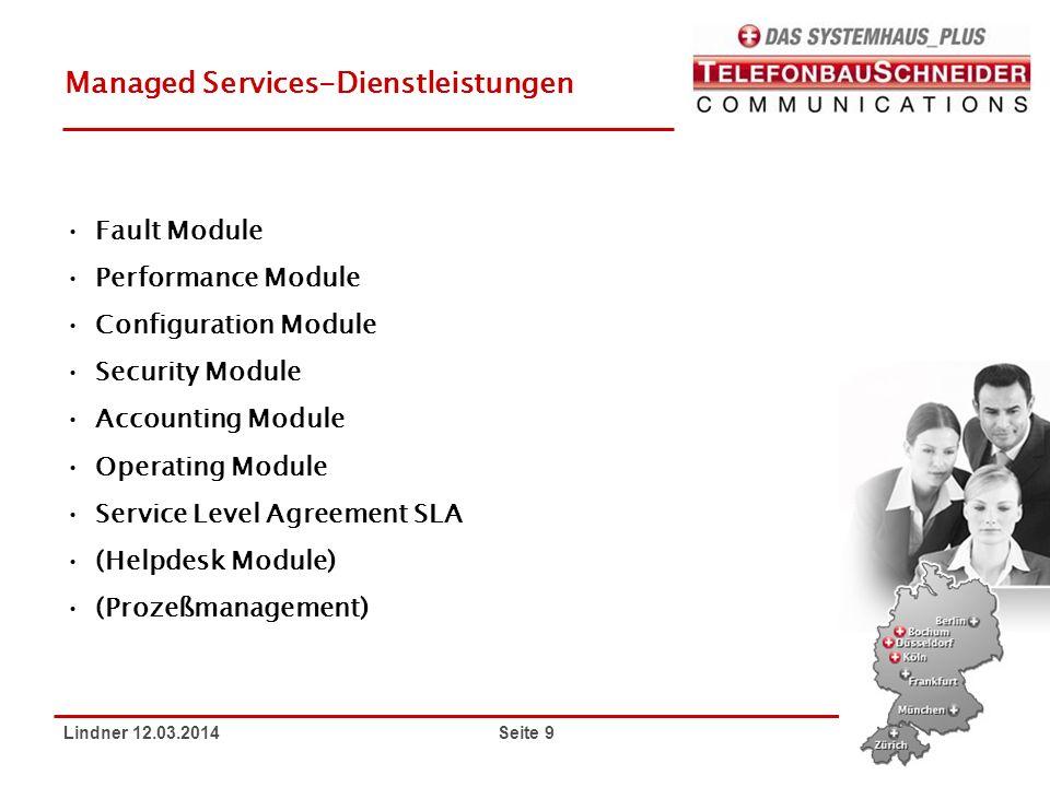 Managed Services-Dienstleistungen