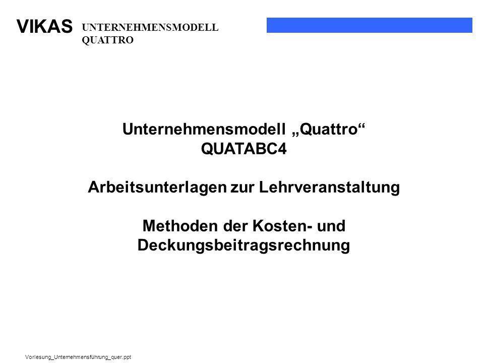 """Unternehmensmodell """"Quattro QUATABC4"""
