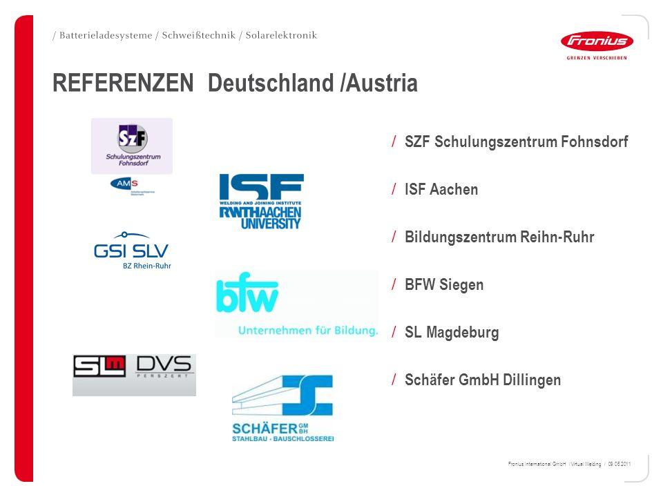 REFERENZEN Deutschland /Austria
