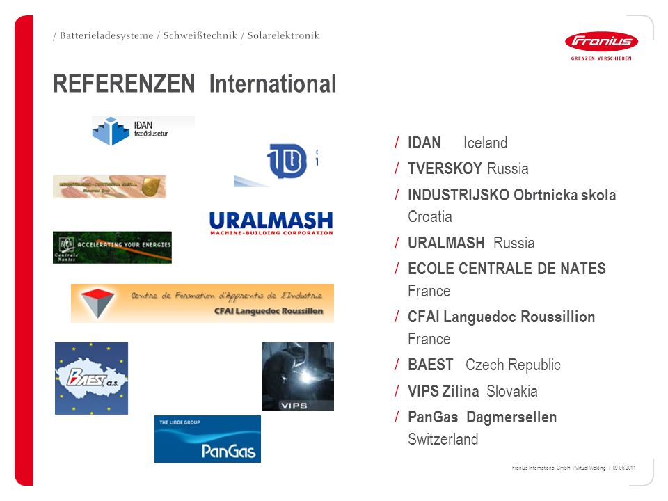 REFERENZEN International