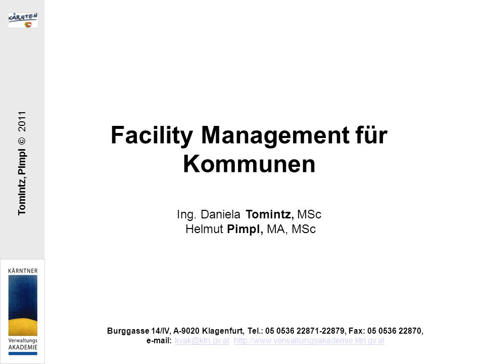 Facility Management für Kommunen