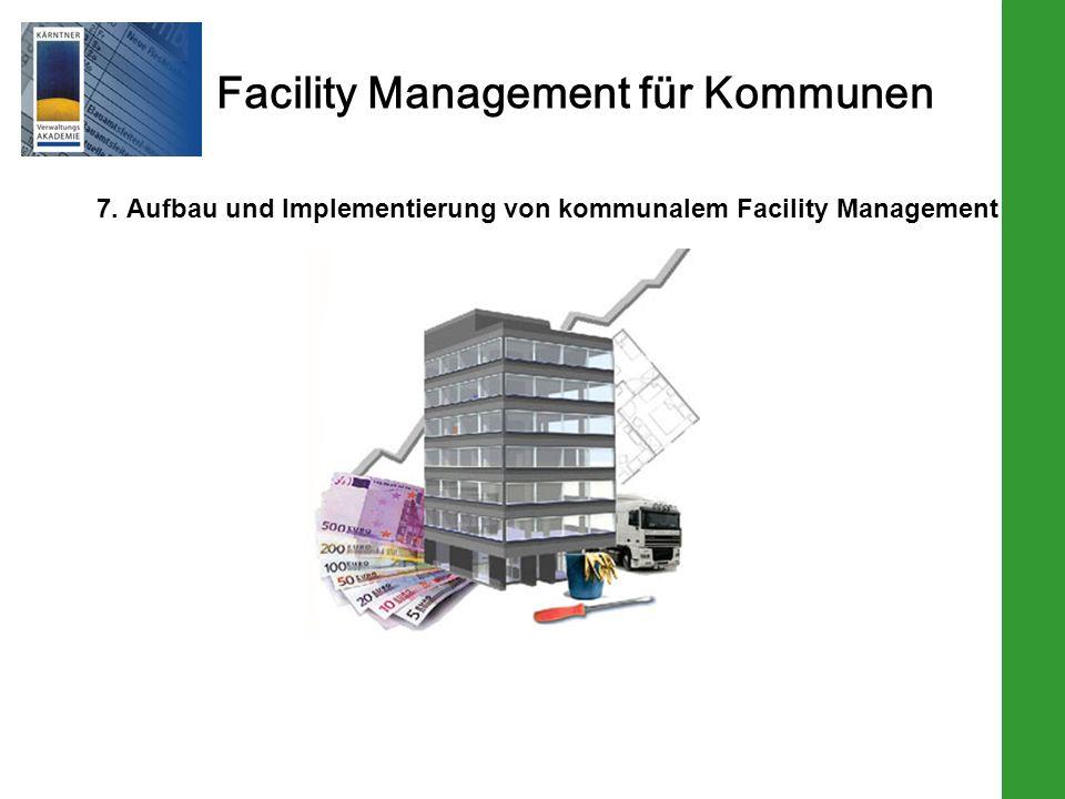 7. Aufbau und Implementierung von kommunalem Facility Management