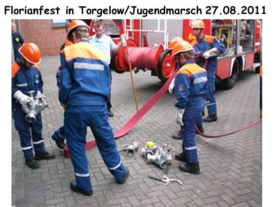 Florianfest in Torgelow/Jugendmarsch 27.08.2011