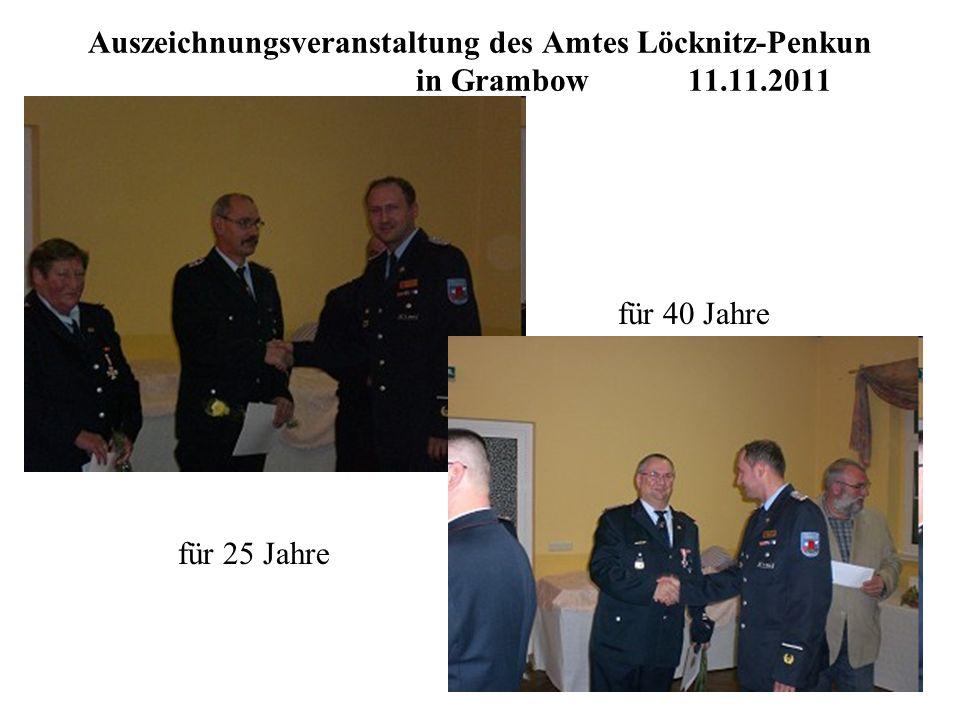 Auszeichnungsveranstaltung des Amtes Löcknitz-Penkun. in Grambow. 11
