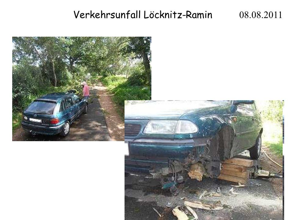 Verkehrsunfall Löcknitz-Ramin 08.08.2011