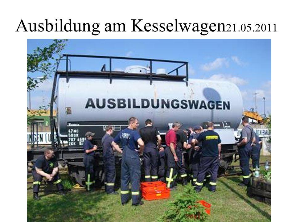 Ausbildung am Kesselwagen21.05.2011