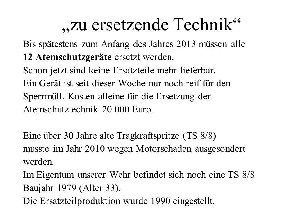 """""""zu ersetzende Technik"""