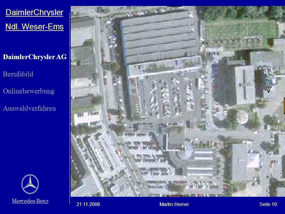 DaimlerChrysler Ndl. Weser-Ems DaimlerChrysler AG Berufsbild