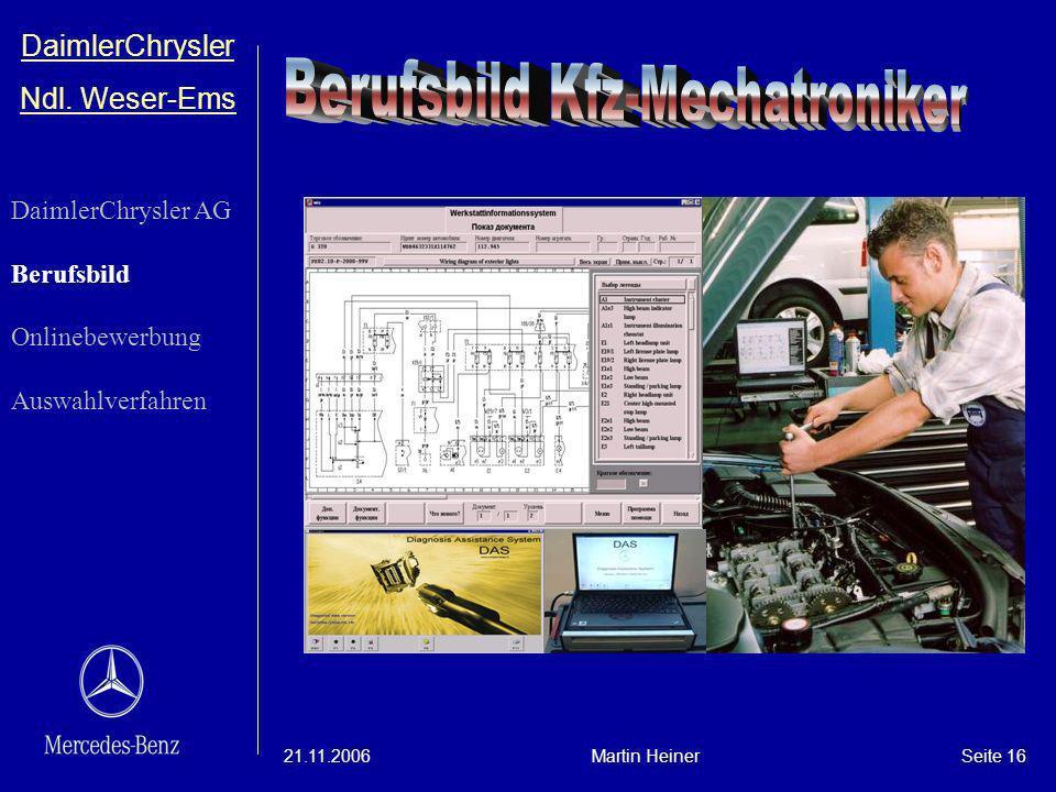 Berufsbild Kfz-Mechatroniker