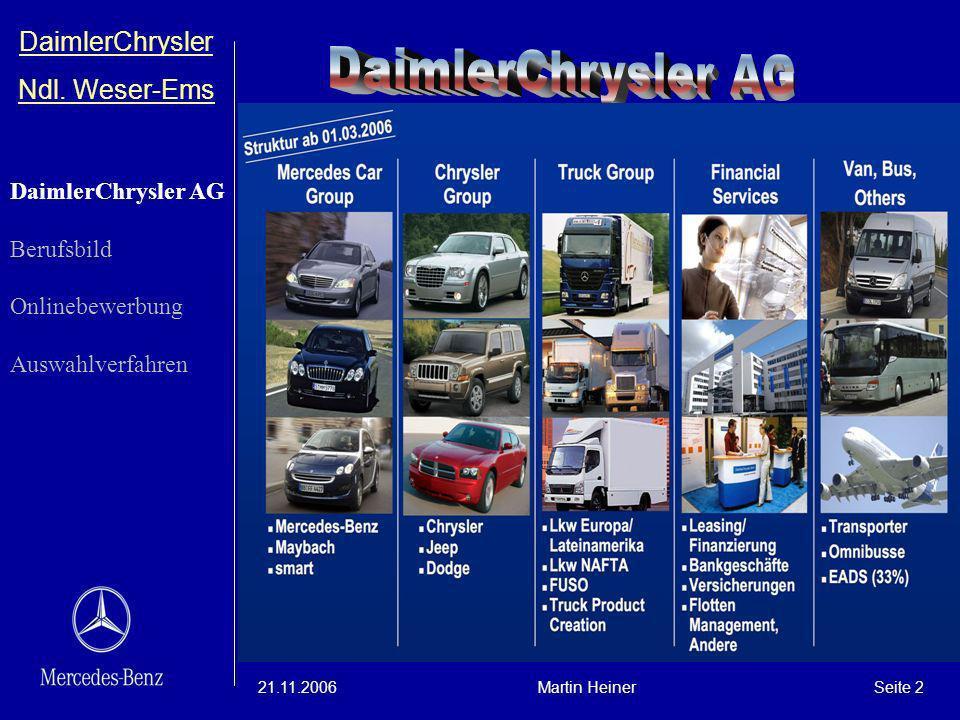 DaimlerChrysler AG DaimlerChrysler Ndl. Weser-Ems DaimlerChrysler AG