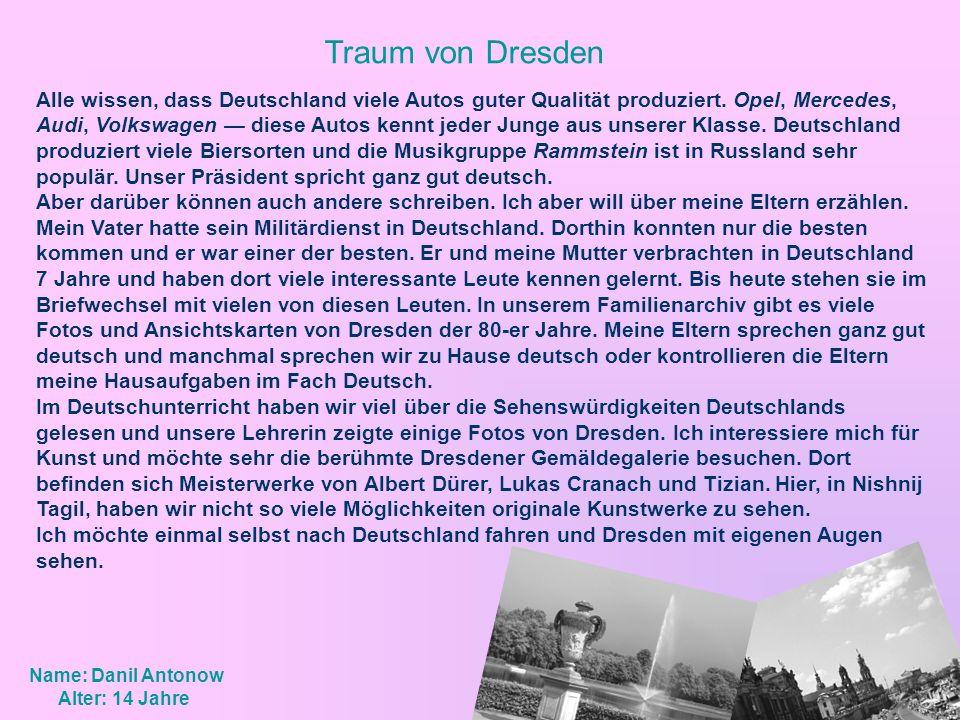 Traum von Dresden