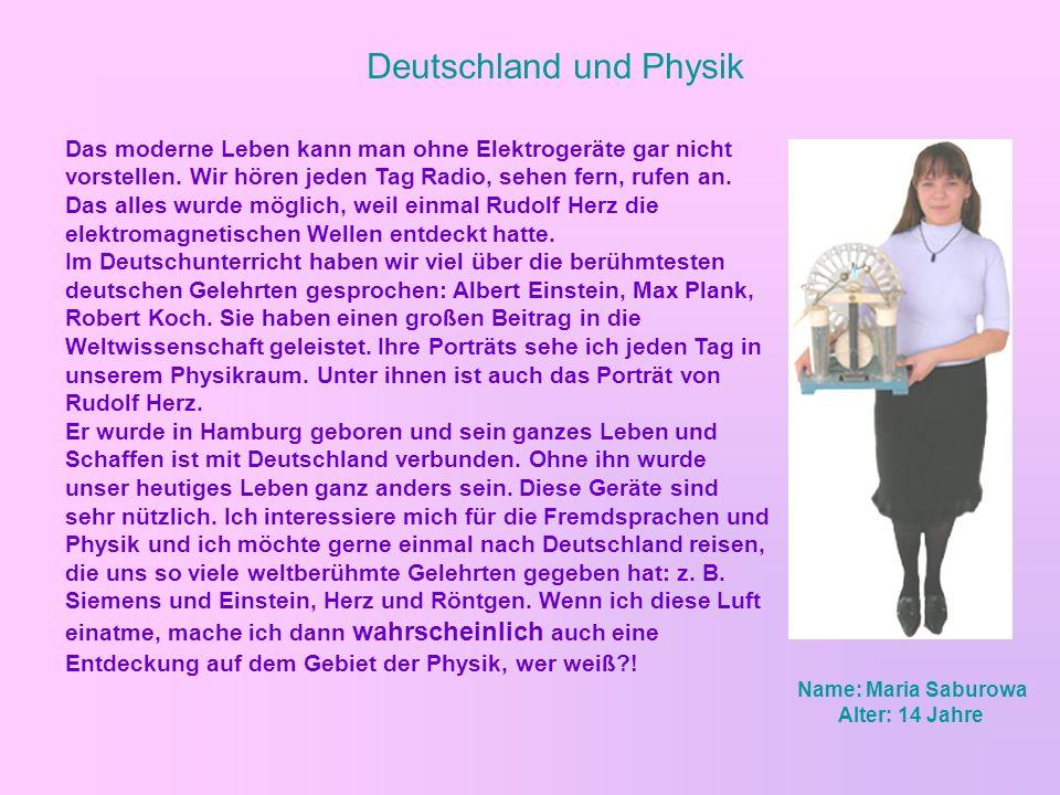 Deutschland und Physik