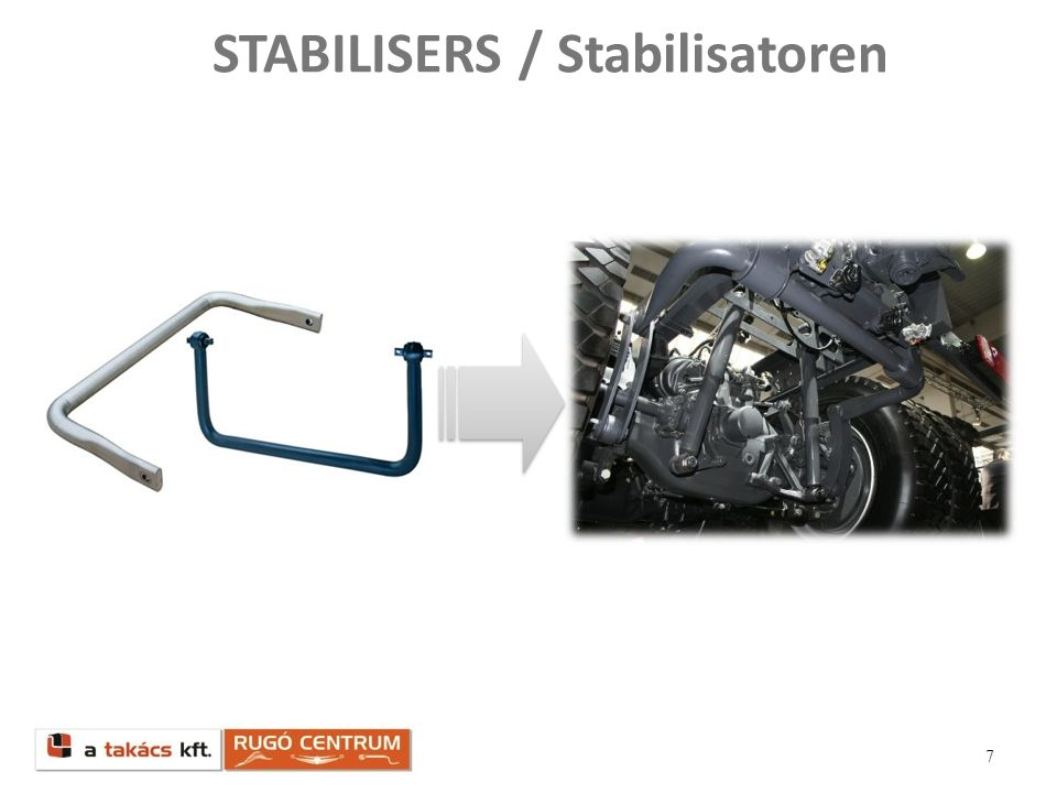 STABILISERS / Stabilisatoren
