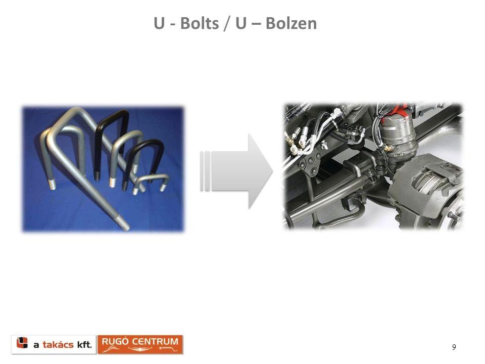 U - Bolts / U – Bolzen