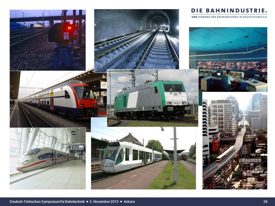 Deutsch-Türkisches Symposium für Bahntechnik ■ 5