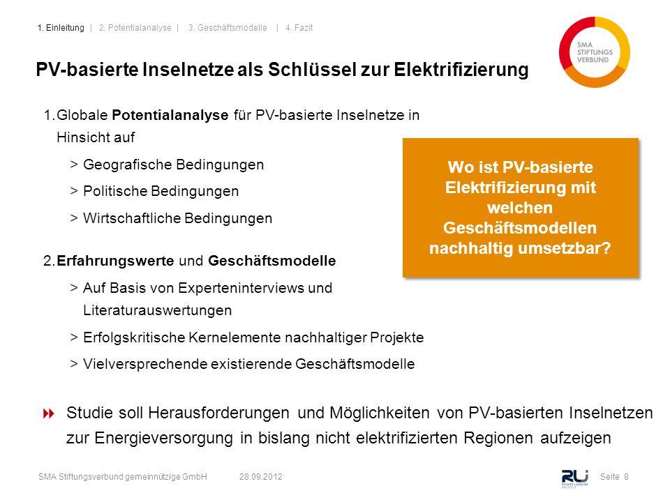 PV-basierte Inselnetze als Schlüssel zur Elektrifizierung