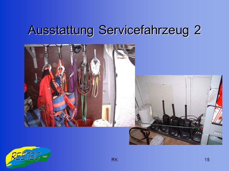 Ausstattung Servicefahrzeug 2