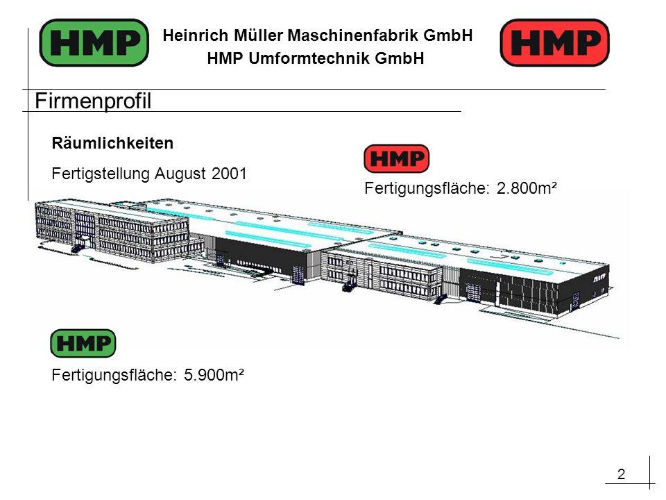 Firmenprofil Räumlichkeiten Fertigstellung August 2001