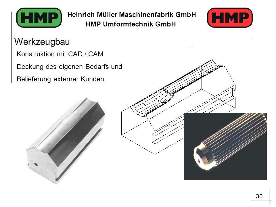 Werkzeugbau Konstruktion mit CAD / CAM Deckung des eigenen Bedarfs und