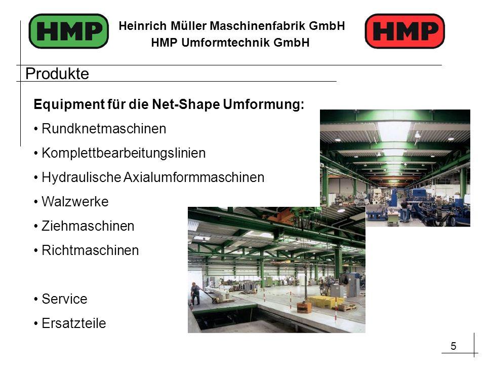 Produkte Equipment für die Net-Shape Umformung: Rundknetmaschinen