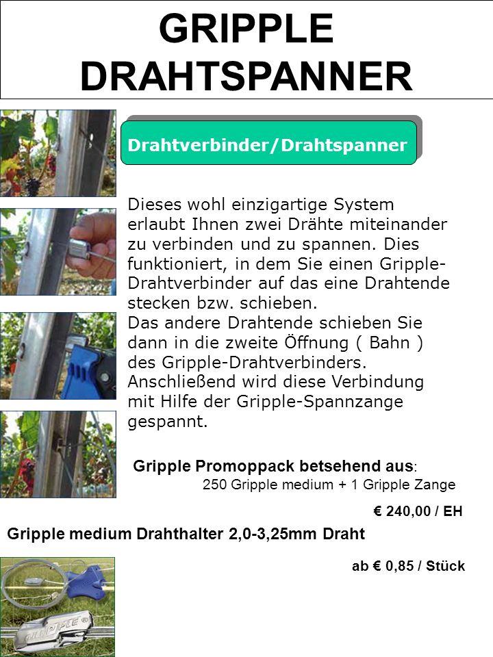 GRIPPLE DRAHTSPANNER Drahtverbinder/Drahtspanner