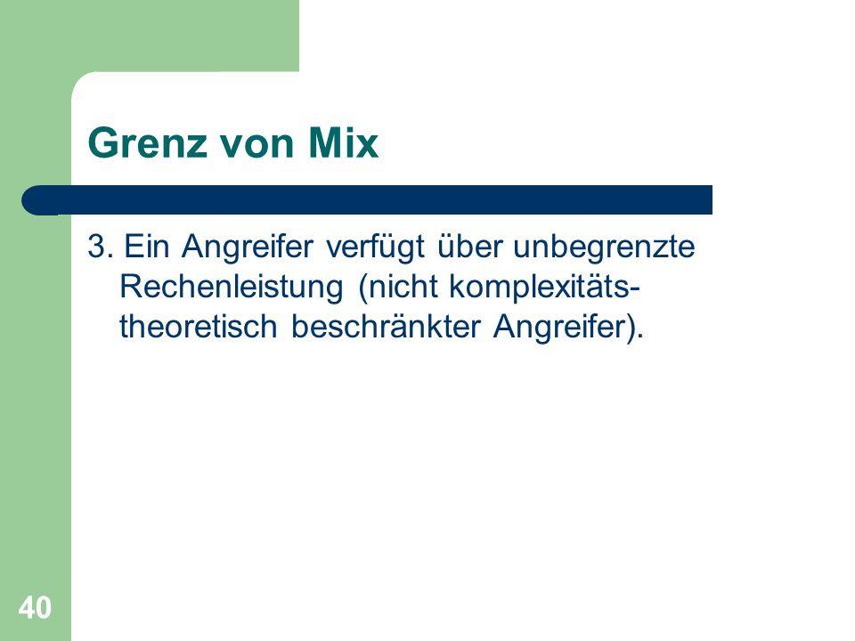 Grenz von Mix 3.