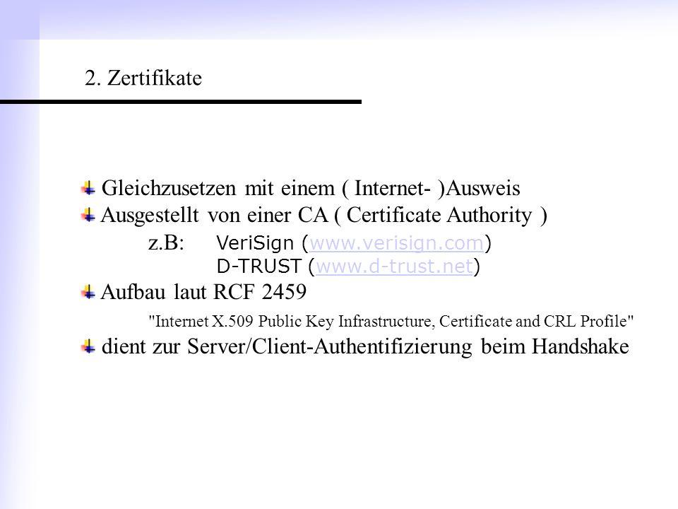 Gleichzusetzen mit einem ( Internet- )Ausweis