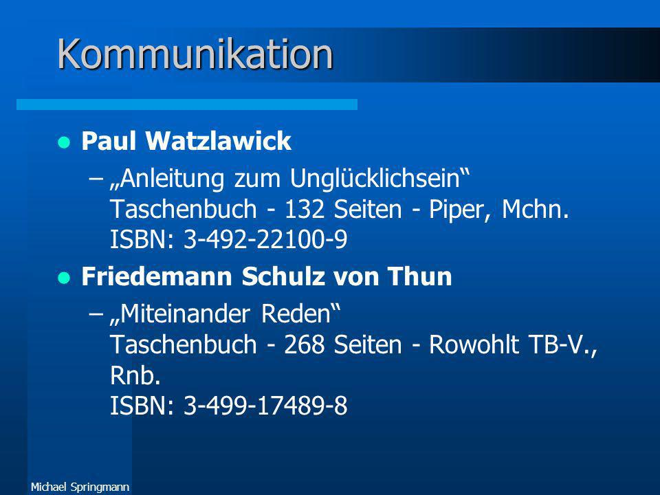 Kommunikation Paul Watzlawick