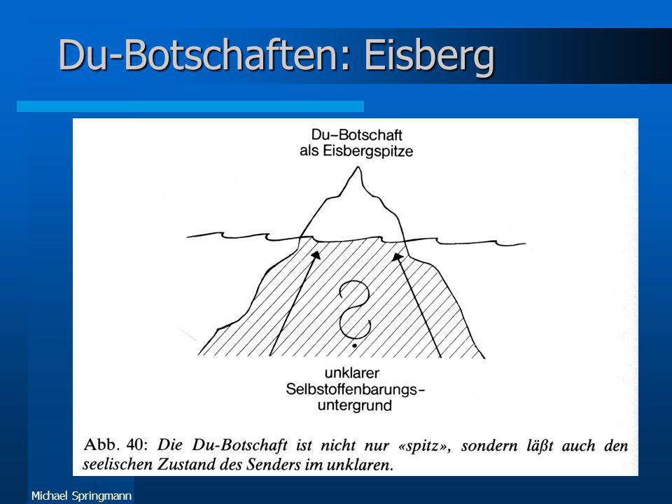 Du-Botschaften: Eisberg