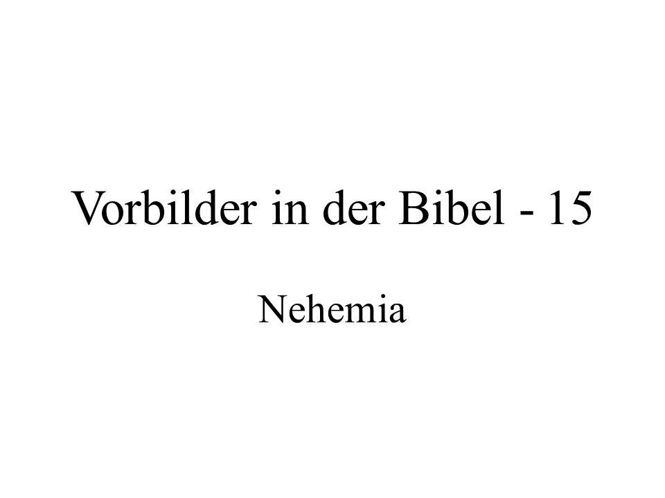 Vorbilder in der Bibel - 15