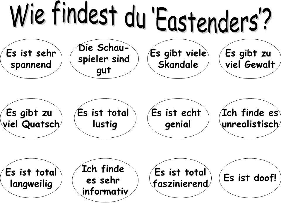 Wie findest du 'Eastenders'
