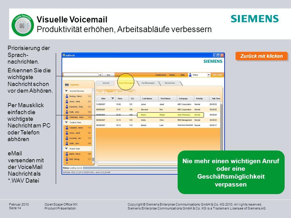 Visuelle Voicemail Produktivität erhöhen, Arbeitsabläufe verbessern