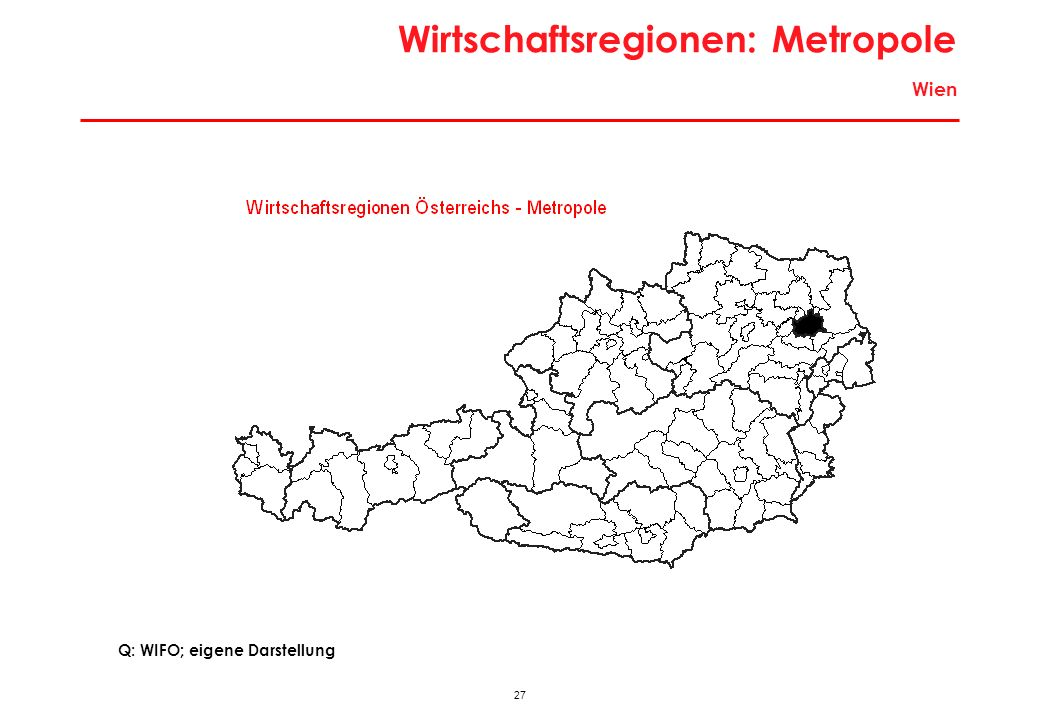 Wirtschaftsregionen: Metropole Wien
