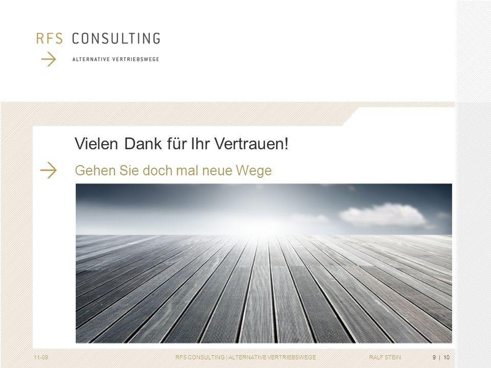 RFS CONSULTING | ALTERNATIVE VERTRIEBSWEGE