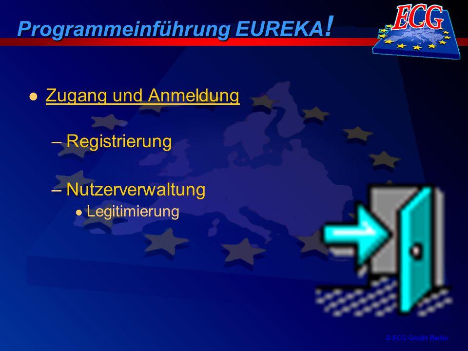 Programmeinführung EUREKA!
