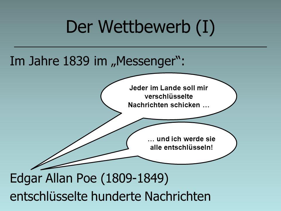 """Der Wettbewerb (I) Im Jahre 1839 im """"Messenger :"""