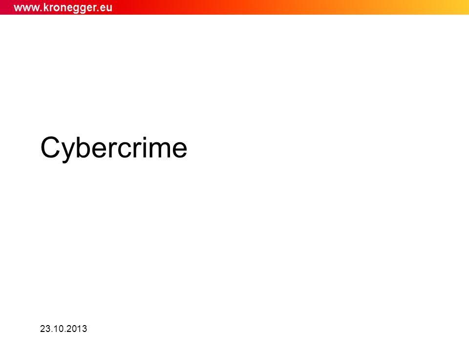Cybercrime 23.10.2013