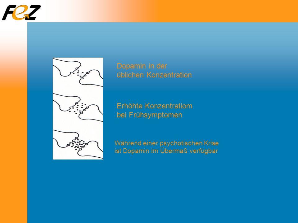Dopamin in der üblichen Konzentration