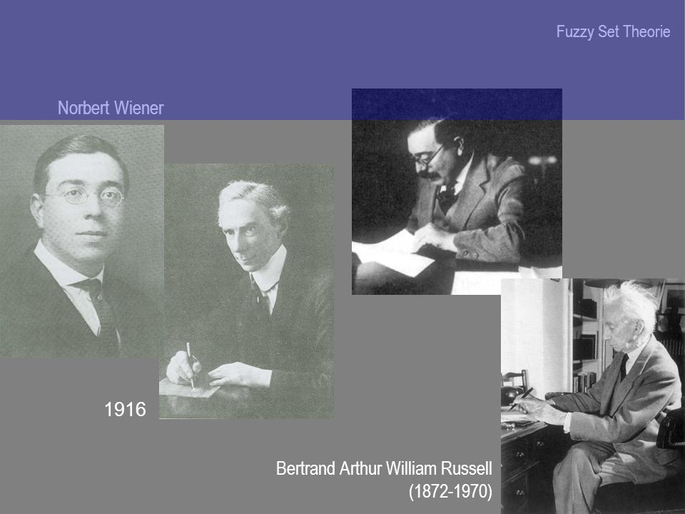 Bertrand Arthur William Russell ( )