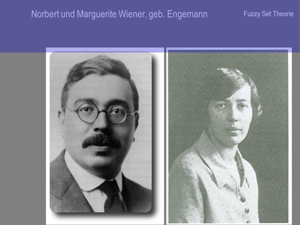 Norbert und Marguerite Wiener, geb. Engemann