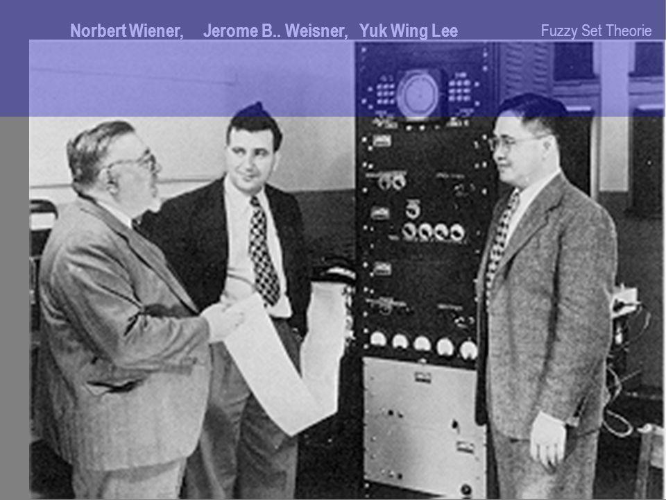 Norbert Wiener, Jerome B.. Weisner, Yuk Wing Lee