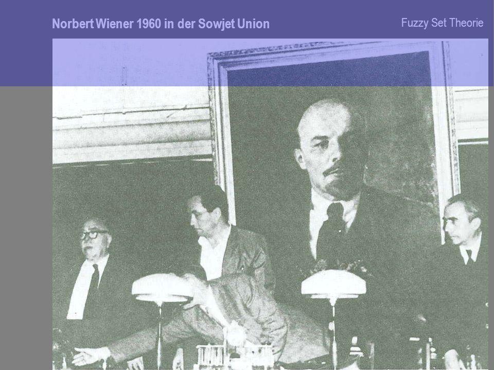 Norbert Wiener 1960 in der Sowjet Union